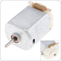 3.0V 0.15A 12300RPM 130 DC Motor Mini Fan Motor Pupils Scientific Experimental Motor Toy Motor For DIY Toy Model / Massage Products