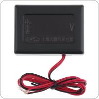 12V / 24V Universal  Digital  Display Anti Shake Volt Gauge with Sensor for Car / Truck