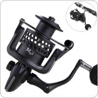 5000 Series 13+1BB 5.2:1 Metal Spinning Fishing Reel 15KG / 33LB Hollow Out Spool Giving Spare Nylon Line Cup