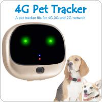 RF-V43 4GLTE+3GWCDMA+2G GSM Mini GPS+Wifi Double Fence Waterproof IP67 Pet Tracker Real Time Tracking Locator