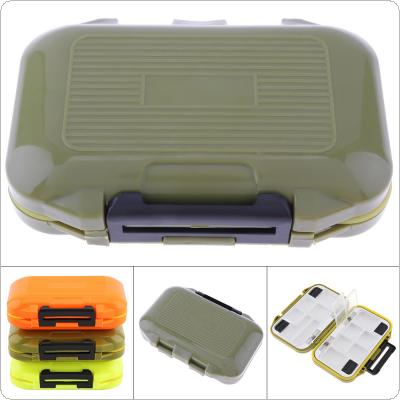 12 x 7 x 2cm Waterproof Sealing Double Side 12 Compartments Bait Lure Hooks Case Carp Fly Fishing Accessories Storage Boxes 3 Colours Optional