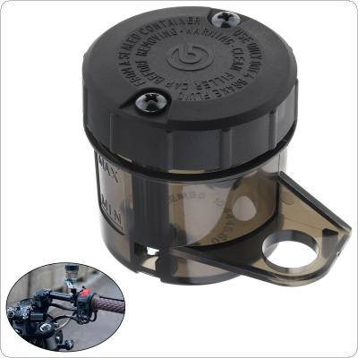 Black Currency Liquid Bottle Modified Parts Fluid Bottle Reservoir Tank Cup Front Brake Clutch Sports Brake Pump Motorcycle Oil Cup