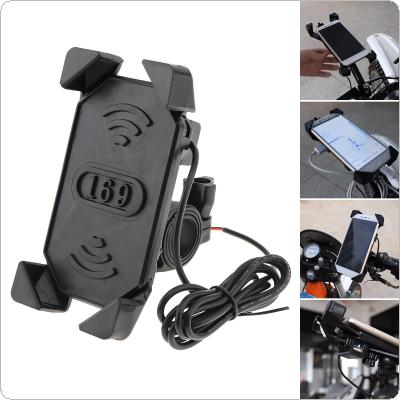 Universal Multi-function USB Charger GPS Mobile Phone Bracket Vehicle Navigator for Motorcycle / Electric Car / Off-road Vehicle