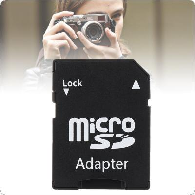 Black Ultra Small Plug and Play Micro SD Card Adapter