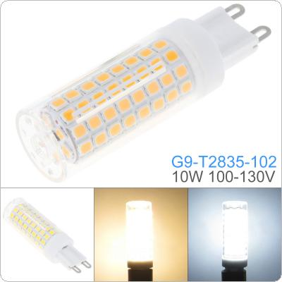 Dimmable G9 110V White / Warm White 102 LEDs 2835 SMD 10W Corn Bulb Silicone Lamp