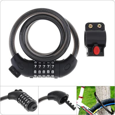 Code Password Bike Combination Lock Bike Cable Lock Security Coded Steel Wiring Bicycle Safety Lock