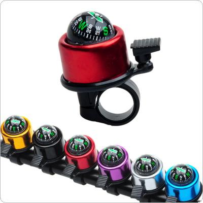 Cycling Bicycle Handlebar Ring  Bike Bell Horn Sound Alarm Accessory with Compass