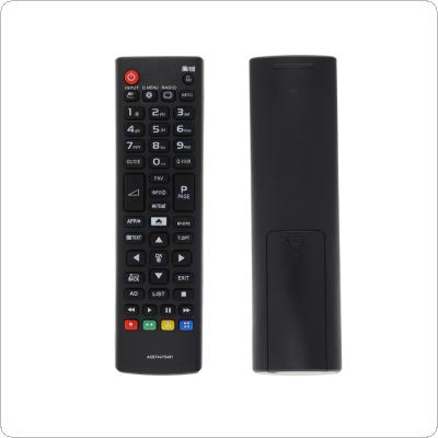 IR 433MHz AKB74475481 Replacement TV Remote Control Distance Suitable for LED LCD HD TV 32LF592U / 43LF590V / 43UF6407 / 43UF640V / 49UF6407