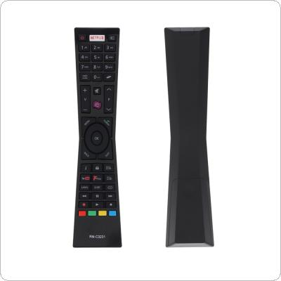 IR 433MHZ RM-C3231 Replacement TV Remote Control with NETFLIX Button Fit for Currys Smar TV LT24C656 / LT24C661