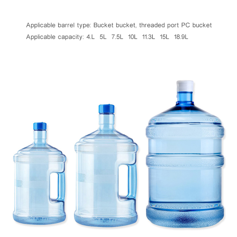 Three Kinds Patterns  Double Pump Barrels / Desk Two Usage Increase Tray Wireless Rechargeable Electric Dispenser Water Pump for 4.5 - 18.9L Barrel Water