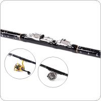 3.6m Telescopic Rock Carp Fishing Rod 11 Section Ultra Short Carbon Fiber Surf Spinning Pole