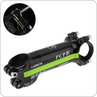 Aluminum  Carbon Fiber Riser Rod Stem Carbon Fiber Bicycle Ultralight Stem Carbon Handle 28.6-31.8MM  17 Degree