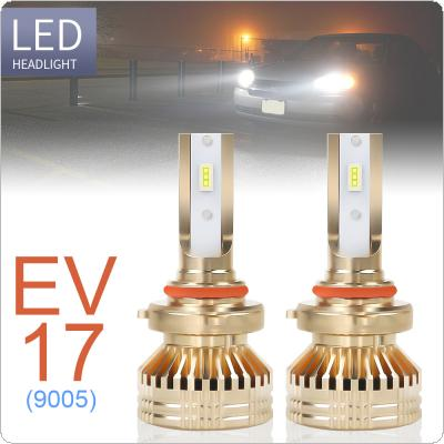 2pcs 9005 / HB3 12000LM 6000K White Super Bright TX3570 Chip Car Headlight Bulbs IP67 Waterproof for Car / Truck / SUV / RV