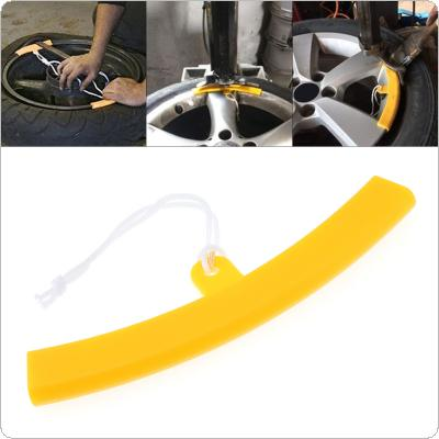 Universal Portable Wheel Rim Protector Tyre Remove Guard Edge Protection Tire Changing Tool with Cords for Motorcycles Bikes Cars