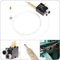 Precision Mist Coolant Lubrication Spray System with 6cm Copper Pipe and Check Valve for Metal Cutting Engraving Cooling Machine / CNC Lathe