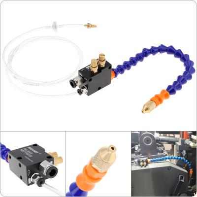 30cm Mist Coolant Lubrication Spray System with 0.6mm Inner Diameter Micro Nozzle and Fully Sealed Plastic Tube for Metal Cutting Engraving Cooling Machine
