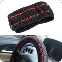 Universal  Stripe Print Breathable Anti-Slip Car styling Steering Wheel Cover