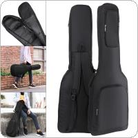 101 x 33 x 6cm Oxford Fabric Electric Guitar Case Gig Bag Double Straps Pad 8mm Cotton Thickening Soft Cover Waterproof Backpack