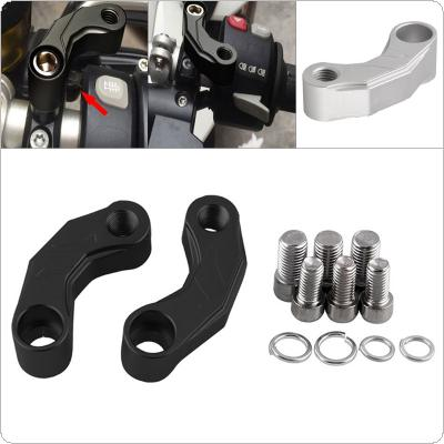 Motorcycle Mirrors Riser Extension Brackets Adapter Fit for R1200GS LC R1200 1200gs 1200 GS LC Adventure 2013-2016