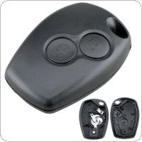 2 Buttons Car Keyless Key Fob Case Shell Replacement Remote Cover Fit for Renault Dacia Modus Clio 3 Twingo Kangoo 2