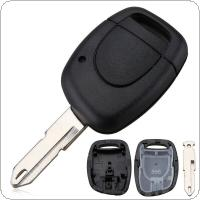 1 Button Car Key Fob Case Shell Replacement Remote Cover Fit for Renault Clio Kangoo Twingo