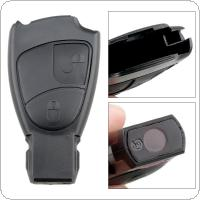 2 Buttons Car Key Smart Shell Case Replacement Remote Cover Fit for Mercedes Benz Class A B/C E S ML CLK CLS SLK CL