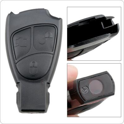 3 Buttons Car Key Smart Shell Case Replacement Remote Cover Fit for Mercedes Benz W168 W202 W203 W208 W210 W211