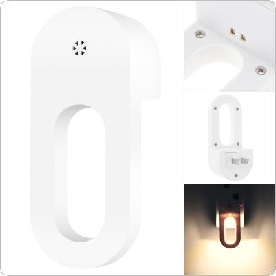 Plug-in LED Night Light with Smart Sensor Automatic Lighting Dusk to Dawn Wall Light for Bedroom Bathroom Stairs Kitchen Hallway