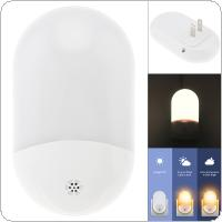 Plug-in LED Night Light with Smart Dusk to Dawn Sensor Automatic Dimming Brightness Wall Light for Bedroom Bathroom Stairs Kitchen Hallway