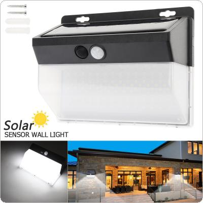 LED Solar Light Outdoor Solar Lamp PIR Motion Sensor Wall Light / Waterproof Solar Wall Lamp for Outdoor Yard Garden