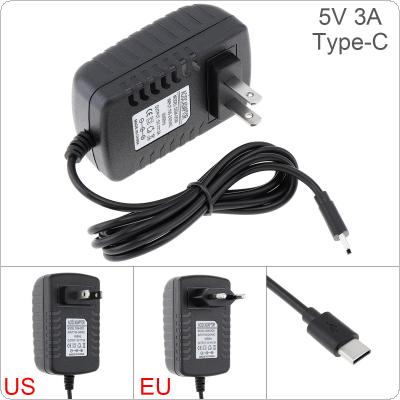 5V 3A Power Adapter Charger Converter Mobile Phone Charger Fit for Raspberry Pi 4 TypeC USB Power Charging