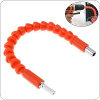295mm Orange Universal flexible Shaft Flexible Drill Shaft Electric Drill Extension for Screwdriver Head and Drill Connection