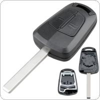 2 Buttons Car Remote Key Shell Case with Blade Fit for Opel Vauxhall Astra H Corsa D Zafira B