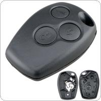 3.5mm*9mm 3 Buttons Car Remote Key Shell with 307 Blade Fit for Renault / Nissan Almera