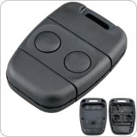 2 Buttons  Fob Replacement Car Key Shell Fit for Land Rover Discovery 1 / Freelander C50