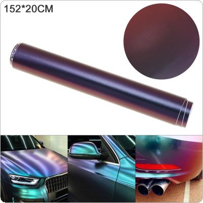 20 X 152cm PVC Glossy-side  Blue / Purple Discolor Automobile Decoration Modification Sticker Fit for Car / Motorcycle / Electronic Product / Home