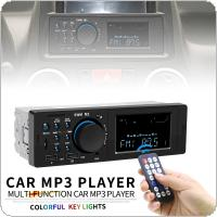 Universal In-Dash 12V Dual USB Bluetooth Multifunctional Car Stereo Radio FM Aux Input MP3 Audio Player with Fast Phone Charging