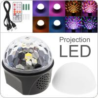 9 Color Bluetooth Magic Ball Crystal Speaker Light Disco USB Laser Mini Strobe Light Stage Effect Light Chargeable