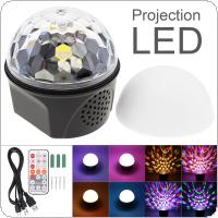 9 Color Bluetooth Magic Ball Crystal Speaker Light Disco USB Laser Mini Strobe Light Stage Effect Light with Remote Control
