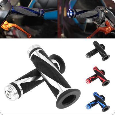 1 Pair Motorcycle Universal Hand Grip Aluminum Alloy Modified Handle Fit for Off-road Vehicle / Street Car