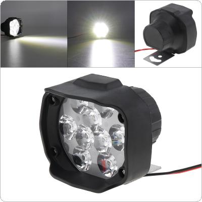 9LED Motorcycle Electromobile Universal Headlights Spotlight Modified Glare External Headlights 12 - 80V