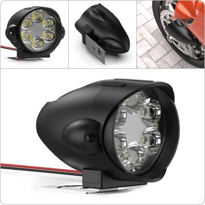 6LED Electric Motorcycle Modified Headlights Shark Super Bright External Lights Glare Lights Scooters Spotlight