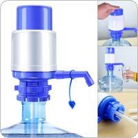 Universal Portable Hand Pressure Manual Dispenser Water Pump with Detachable Water Inlet Pipe and Outlet Pipe Dust Cover