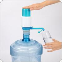 Universal Portable Hand Pressure Manual Dispenser Water Pump with Water Stop Valve and Detachable Water Inlet  Pipe