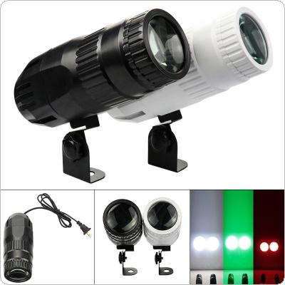 15W Small Spotlight RGBW Stage Effect Light Full Color with Remote Control for DJ Disco / Bar / KTV / Small Party