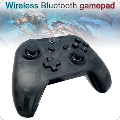 Wireless Bluetooth Pro Game Controller Handle with Transparent Shell and One-click Connection to Console Fit for Switch Console / Switch PRO Controller