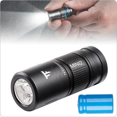 TrustFire MINI2 220 Lumens Keychain EDC Flashlights MINI USB Rechargeable Flash Light with 10180 Lithium Battery Small Perfect for Camping / Hiking / Hunting