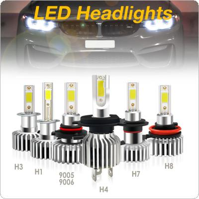 1pcs H4 / H7 / H8 / H11 / 9005 / 9006 / H1 / H3 36W 3600LM 6500K Fog Light Car LED Headlight IP68 Waterproof Fit for Car / Motorcycle
