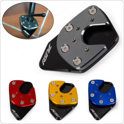 Motorcycle CNC Aluminum Kickstand Non-slip Foot Plate Side Stand Extension Pad Support Plate Modification for X-ADV