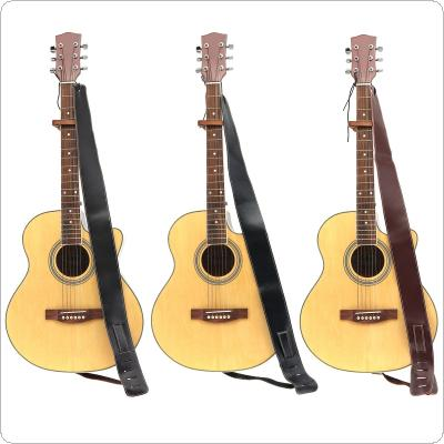 Adjustable Genuine Leather Suede Cowhide Guitar Strap for Acoustic Electric Guitar Bass